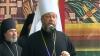 Momente emoţionante în scuarul Catedralei. Mitropolitul Moldovei, cu lacrimi în ochi în faţa Patriarhului rus