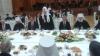 Mămăligă, brânză de oi şi friptură de porc pentru Patriarhul Kiril, la recepţia de la Palatul Republicii