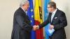 Preşedintele AŞM, la prima întrevedere cu şeful Delegaţiei UE. Diplomatul a lăudat comunitatea ştiinţifică din Moldova