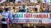 Proteste fără sfârşit în România: Manifestanţii au cerut demisia guvernanţilor, iar unii mineri s-au blocat în subteran