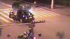Teribilism pe motocicletă. Accident grav, surprins de camerele de supraveghere VIDEO