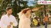 Interpretul Adrian Ursu şi iubita sa, Irina Negară, s-au cununat (VIDEO)