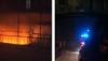 Incendiu la intersecţia străzilor Columna cu Bănulescu-Bodoni din capitală FOTO