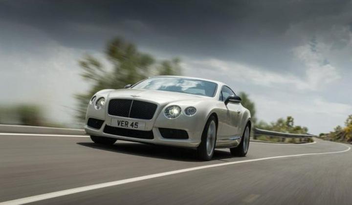 Bentley Continental GT V8 S: Viteza maximă este de 308 km/h
