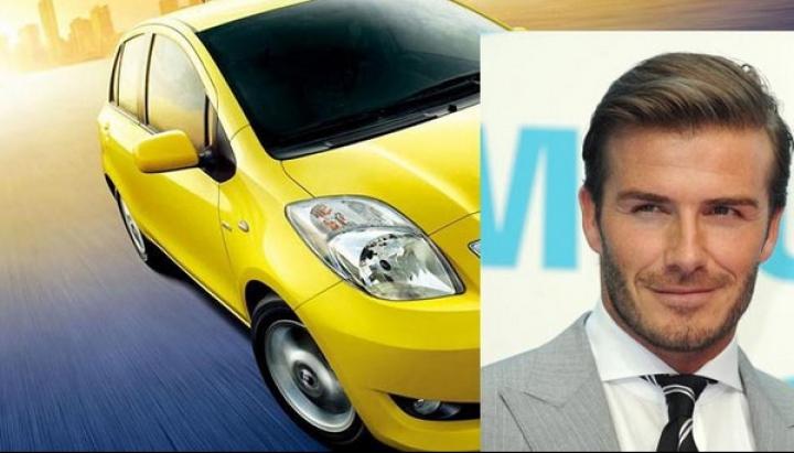 """La ce maşină """"made in China"""" va face reclamă David Beckham?"""