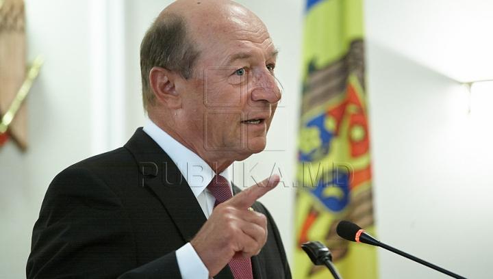 Băsescu: Transnistria ar putea fi o recompensă pentru Rusia, dacă aceasta va pierde baza militară din Siria
