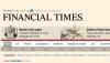 Viitorul e online: Financial Times va publica doar o ediţie print pe zi pentru tot globul