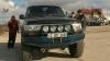 """Întreceri cu maşini de teren """"Jeep trial cross"""" la Chişinău. Startul evenimentului a fost dat de ministrul Apărării (VIDEO)"""