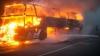 Accident cu 40 de morţi! Oamenii au ars de vii, după ce autobuzul în care se aflau a luat foc