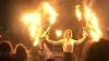 Vrăjitoare dansând pe muzică rock, la Castelul Dracula VIDEO