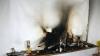 O femeie din Ştefan Vodă a ars de vie în propria casă