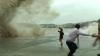 Autorităţile chineze au emis cel mai înalt nivel de avertizare de furtună (VIDEO)