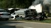 Un autobuz a ieşit pe contrasens şi a lovit un camion: Opt morţi şi 14 răniţi