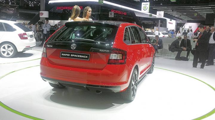 Skoda a prezentat primul hatchback compact