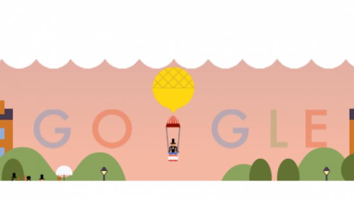 Google sărbătoreşte 216 ani de la primul salt cu paraşuta