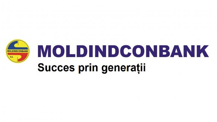 """""""Moldindconbank"""" sărbătorește 22 ani de la fondare"""