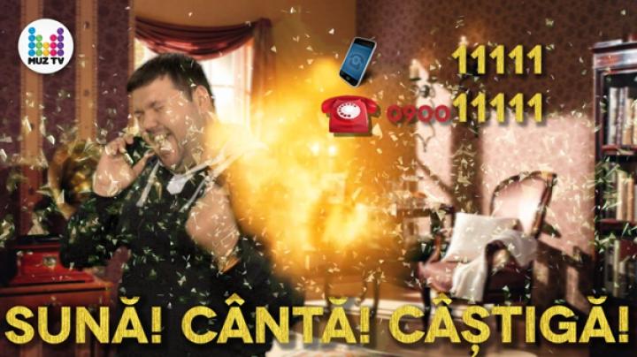 """Cântă la telefon şi câştigă premii! Muz TV lansează campania """"Muz Karaoke"""""""