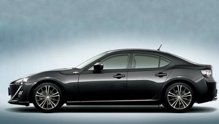 Autostrada.md: Toyota îşi doreşte o versiune cu patru uşi pentru GT86
