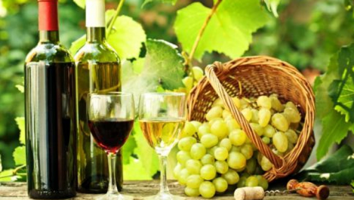 Expoziția vinurilor moldovenești la Parlamentul României, discutată cu producătorii și exportatorii din Moldova