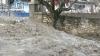 Alunecările de teren fac PRĂPĂD într-un sat din Şoldăneşti. Un localnic, ostatic în propria curte