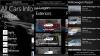 Aplicaţia All Cars Info – o enciclopedie de maşini pentru Windows Phone