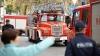 Incendiu la Ciocana! Un depozit cu cereale a fost cuprins de flăcări