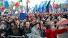 Ce au declarat oamenii care au venit astăzi la mitingul Pro Europa din Piaţa Marii Adunări Naţionale (VIDEO)