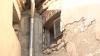 """Clădirea veche a Liceului """"Gheorghe Asachi"""" din capitală se transformă în ruine, iar tencuiala riscă să cadă peste trecători"""