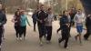 Tinerii, pentru un mod sănătos de viaţă. Participanţii au alergat 4 km în parcul Valea Morilor