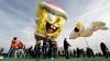 În SUA au fost lansate mai multe baloane gigantice (VIDEO)