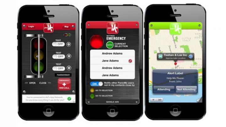 Butonul de panică, o nouă aplicaţie ce îţi avertizează apropiaţii când te afli în pericol