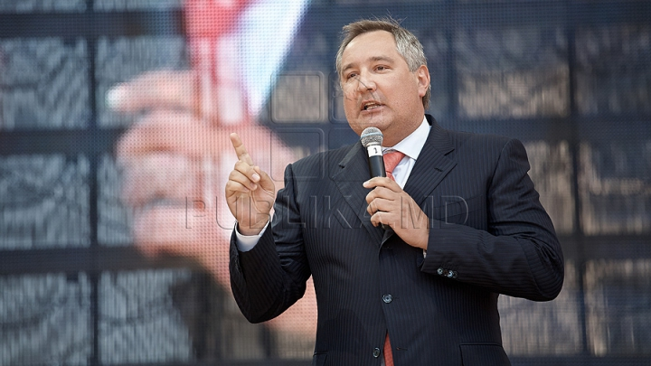 Dmitrii Rogozin - persona non grata. Vezi cine nu mai vrea să-l vadă pe la Chişinău