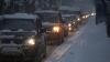 Nervii şoferilor, întinşi la maximum în capitală. Autorităţile se laudă că au trecut cu bine examenul primei zăpezi (VIDEO)