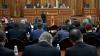 Parlamentul va examina miercuri moţiunea împotriva Guvernului, depusă astăzi de comunişti
