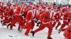 Circa 300 de Moşi Crăciun au participat la maratonul caritabil organizat anual la Riga