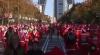 (VIDEO) Străzile Madridului, invadate de mii de Moşi Crăciun şi spiriduşi
