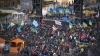 Un bărbat a fost găsit mort lângă Piaţa Independenţei din Kiev, unde au loc proteste