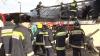(IMAGINI VIDEO) Un atelier auto din capitală, MISTUIT de flăcări