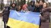 Protest de solidarizare cu manifestanţii din Ucraina, la Chişinău. Ce solicitări au avut protestatarii