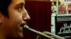 Micul trompetist cu suflet mare. A pornit pe drumul performanţei cu un instrument împrumutat, iar familia nu poate decât să-l încurajeze