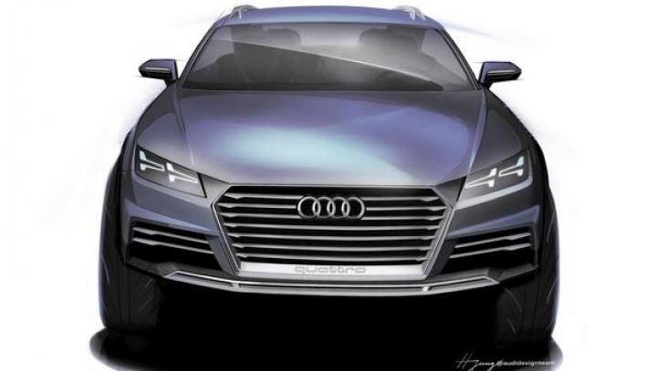 Primele schiţe ale conceptului din care se va naşte micul SUV Audi Q1 (FOTO)