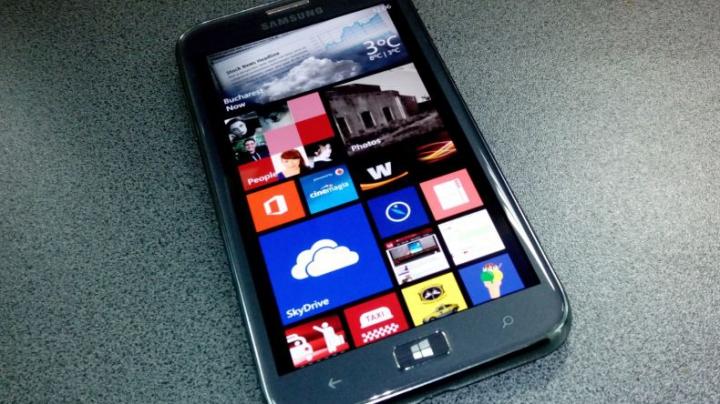 Un nou smartphone Windows Phone de la Samsung ajunge pe piaţă în 2014 (FOTO)