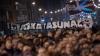 Protest de amploare în Spania. Zeci de mii de oameni au ieşit pe străzile din oraşul Bilbao