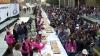 Tradiţie delicioasă în capitala Mexicului. Mai multe brutării au pregătit o prăjitură de aproape zece tone (VIDEO)