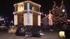 (VIDEO) Au chefuit, dar au uitat de curăţenie. Mormane de gunoi au rămas în centrul Chişinăului, după concertul de Revelion