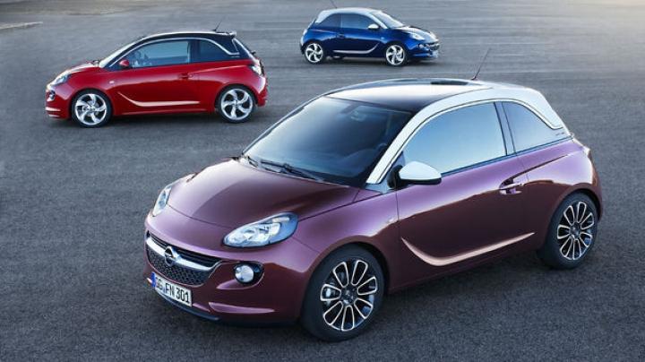 Opel îşi măreşte cota de piaţă în Europa cu ajutorul micului Adam