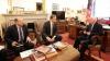 Corman şi Ghileţchi au cerut de la oficialii americani abolirea regimului de vize pentru Moldova