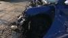 Accident în lanţ în sectorul Buiucani al Capitalei. O maşină a fost făcută zob, iar alte două - avariate grav (VIDEO)