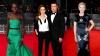 Vedetele de cinema nu au pierdut ocazia să-şi etaleze garderoba la premiile BAFTA