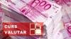 Curs valutar: Leul continuă să piardă teren în raport cu moneda unică europeană